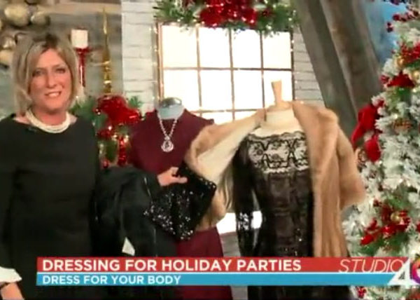 Debbie O'Hearn gives tips on how to dress for a holiday party.