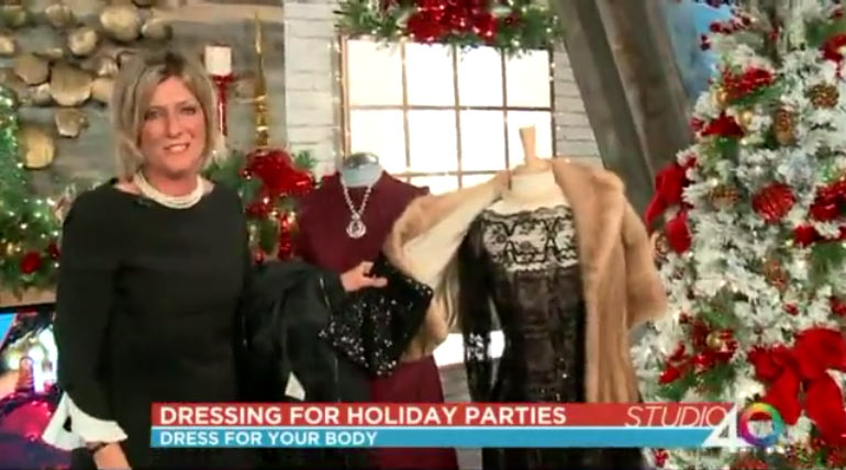 Dressing for a Holiday Party
