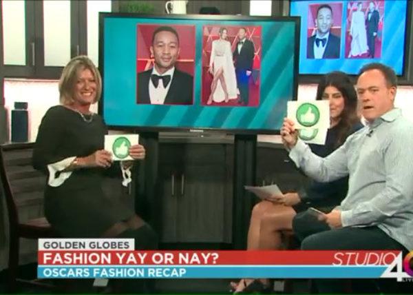 Debbie rating 2017 Oscars Fashion
