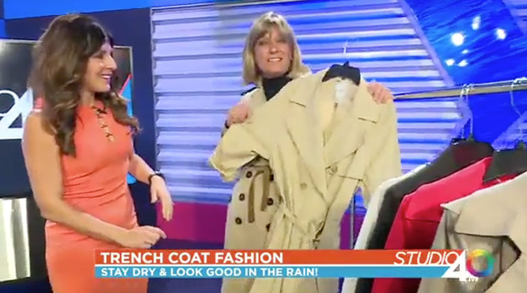 Classic Trench Coat Styling