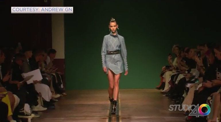Paris Fashion Week and Andrew Gn
