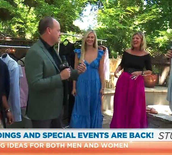 Debbie O'Hearn shares wedding fashion advice